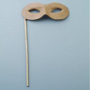 Ögonmask på pinne 7 x 17 / 22 cm -
