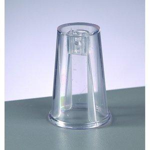 Adapter för plastbollar - kristallklar (SBS)