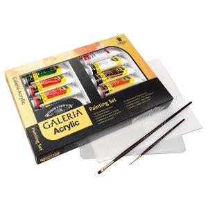 Akrylfärg W&N Galeria - Målarset 9x60 ml