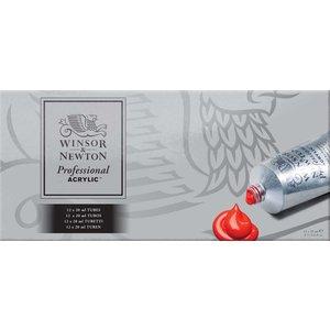 Akrylfärg W&N Professional - Färgset12x20 ml