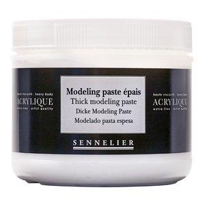 Akrylmedium Sennelier 500 Ml - Thick Modeling Paste