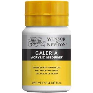 Akrylmedium W&N Galeria - Texturgel glaspärlor 250 ml