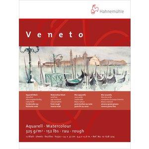 Akvarellblock Hahnemühle Veneto 325g Grov/Matt - 24x32cm