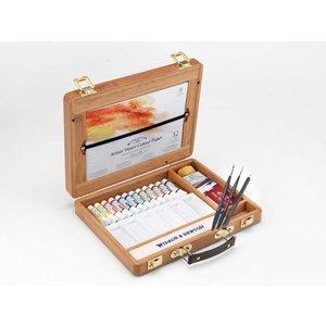 Akvarellfärg W&N Professional Bambulåda tuber 12 st