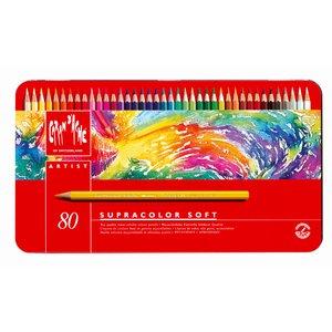 Akvarellpenna Caran d´Ache Supracolor - 80 pennor