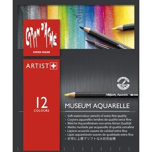 Akvarellpennset Caran D´Ache Museum - 12 pennor