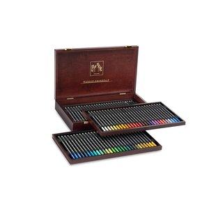 Akvarellpennset Caran D´Ache Museum - Wooden Box 76 pennor