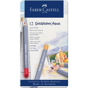 Akvarellpennset Goldfaber Aqua - 12 Pennor