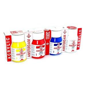 Amsterdam akrylset (4 X 500 ml)