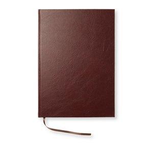 Anteckningsbok Leather Look A4 Linjerad - Brown