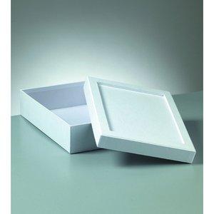 Ask mosaik 20 x 15 x 6 cm - vit rektangulär