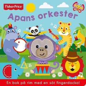 Barnbok Apans orkester - Fisher-Price (med fingerdocka)