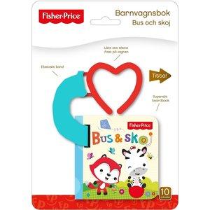 Barnbok Bus och skoj - Fisher-Price (Barnvagnsbok)