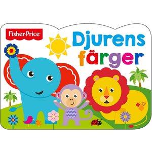 Barnbok Djurens färger - Fisher-Price (Pekbok)