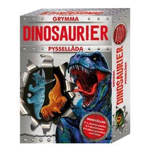 Barnbok Grymma dinosaurier -  (med bok)