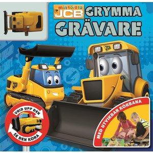 Barnbok Grymma grävare - JCB (med leksak)