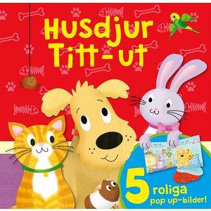 Barnbok Husdjur -  (Titt-ut)