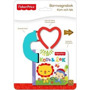 Barnbok Kom och lek - Fisher-Price (Barnvagnsbok)