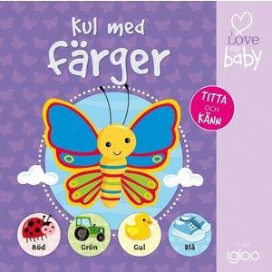 Barnbok Kul med färger: Titta och känn