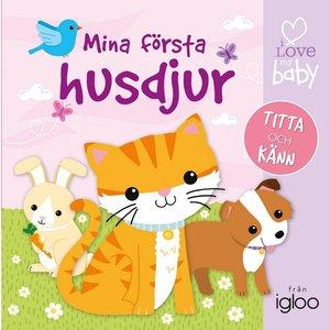 Barnbok Mina första husdjur