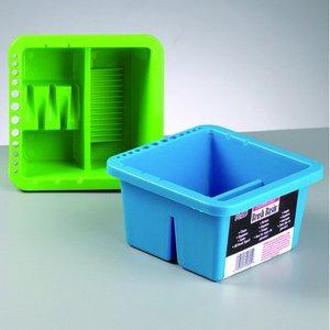 Behållare för penselrengöring 16 x 16 x H - blandade färger plast