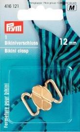 Bikinispänne met. 12 mm guldfärg