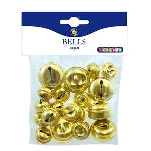 Bjällror 20-30 mm - 20-pack