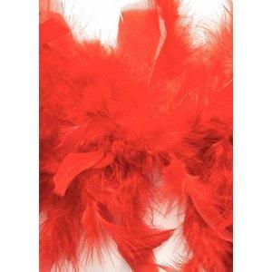 Boafjädrar 45g röd 1
