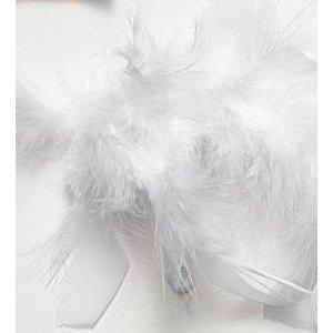 Boafjädrar 45g vit 1