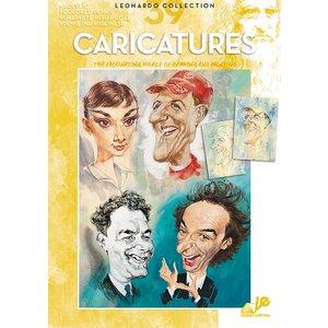 Bok Litteratur Leonardo - Nr 39 Caricatures