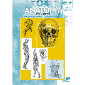 Bok Litteratur Leonardo - Nr 4 Anatomy For Artists