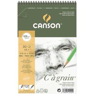 Canson C á grain 125g - A5+