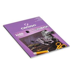 Canson Kids Svart papper 220g - A4