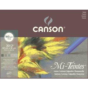 Canson Mi-Teintes Pastellpapper Gris160g - 32x41 cm
