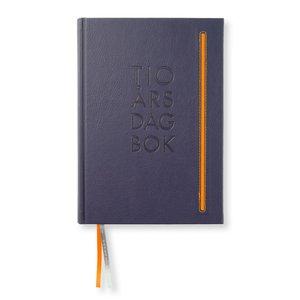 Dagbok 10-Års Soft De Luxe A5