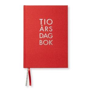 Dagbok 10-Års Textil A5