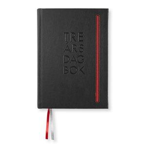 Dagbok 3-Års Soft De Luxe A5