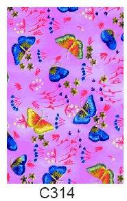 Decopatch-papper (fjärilar)