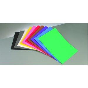 Dekorgummi - Skumgummiark 300 x 450 x 2 mm - 10-pack - blandade färger
