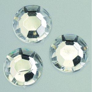 Dekorsten akryl facetterad - kristall