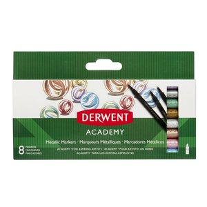 Derwent Academy Metallic Marker - 8 Pennor