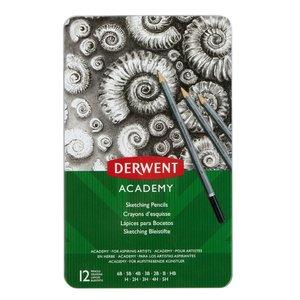 Derwent Academy Sketching - 12 Delar