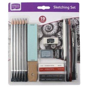 Derwent Academy Sketching - 19 Delar