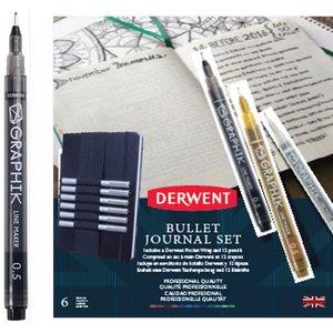Derwent Bullet Journal - Markerset