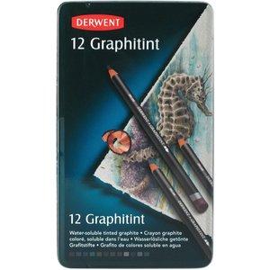 Derwent Graphitint - 12 Pennor