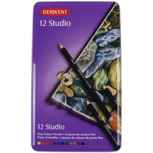 Derwent Studio - 12 Pennor