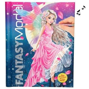 Designbok med ljud och ljus Fantasy