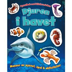 Djuren i havet- pysselbok med klistermärken