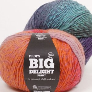 Drops Big Delight garn - 100g
