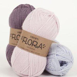 Drops Flora garn - 50g